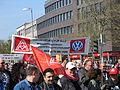 1. Mai 2013 in Hannover. Gute Arbeit. Sichere Rente. Soziales Europa. Umzug vom Freizeitheim Linden zum Klagesmarkt. Menschen und Aktivitäten (151).jpg