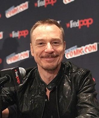 Ben Daniels - Daniels at the New York Comic Con