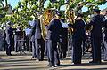 100 Jahre Dampfschiff Stadt Rapperwil - Hafenfest Rapperswil - 'Rosenempfang' durch die Feldmusik Jona 2014-05-23 19-30-43.JPG