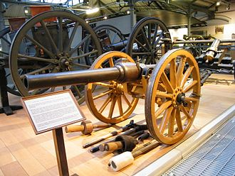 1st Argyll and Bute Artillery Volunteers - 10-Pounder mountain gun preserved at the Royal Artillery Museum.