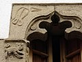 135 Can Gibert (Caldes d'Estrac), finestra gòtica.JPG