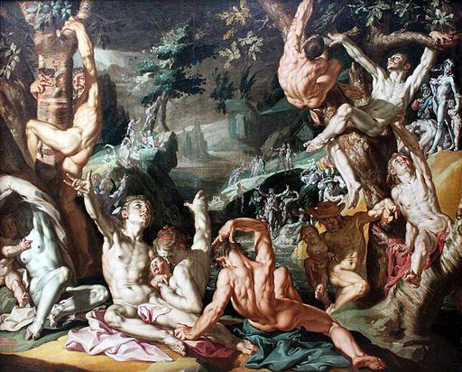 1595 Wtewael Die Sintflut anagoria