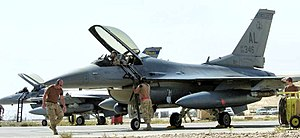 160th Fighter Squadron - 160th Expeditionary Fighter Squadron F-16C 86-0346 Balad AB Iraq, 2006