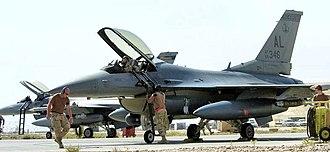 160th Fighter Squadron - 160th Expeditionary Fighter Squadron F-16C 86-0346 Balad AB Iraq, 2006