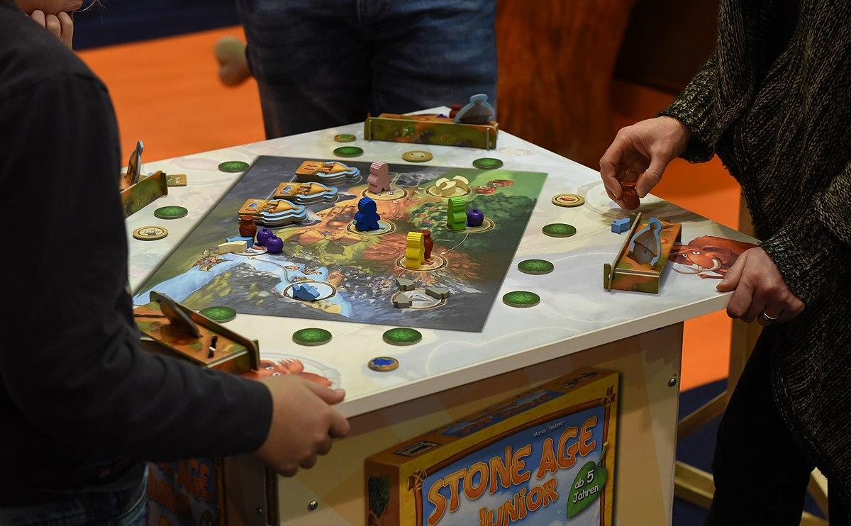 Stone Age Junior Spiel