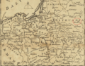 1757 Minski detail of map Russians March to Prussia BPL 14326.png