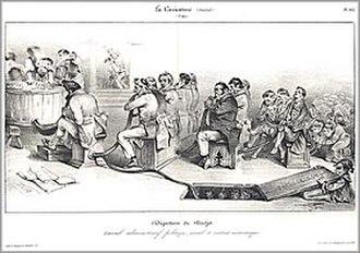Jean Ignace Isidore Gérard Grandville - Image: 1832 digestion 280