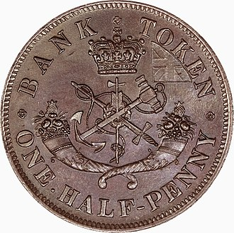 Coinage of Upper Canada - Reverse