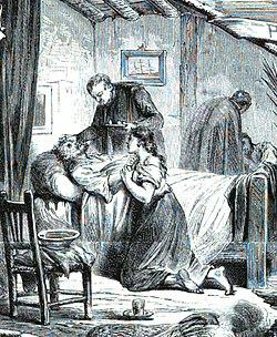 1870-11-25, La Ilustración Española y Americana, España, Barcelona (cropped) Enfermo agonizante.jpg