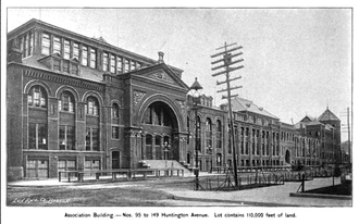 Mechanics Hall (Boston, Massachusetts) - Mechanics Hall, Huntington Ave., Boston, 1892