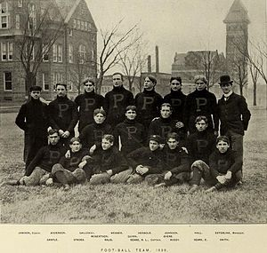 1898 Purdue Boilermakers football team - Image: 1898 Purdue football team