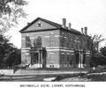 1899 Northbridge public library Massachusetts.png