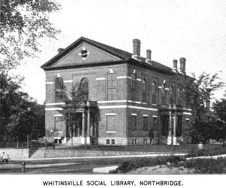 1899 Northbridge public library Massachusetts