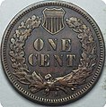 1909-S Indian Head cent reverse.jpg