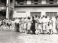1921 - Bathers at Old Cedar Beach Poolhouse - Allentown PA.jpg