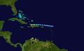 1931 Atlantic tropical storm 5 track.png