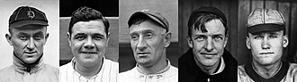 National Baseball Hall of Fame and Museum - Image: 1936 Hall of Fame Inductees