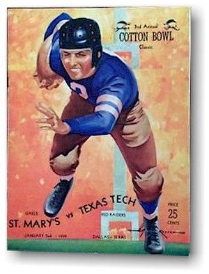 1939 Cotton Bowl Classic - 1939 Cotton Bowl Game Program