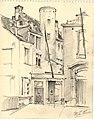 1944 sept. 14 Maison Doyen St.Gudule rue Bois-Sauvage Leon VAN DIEVOET.jpg