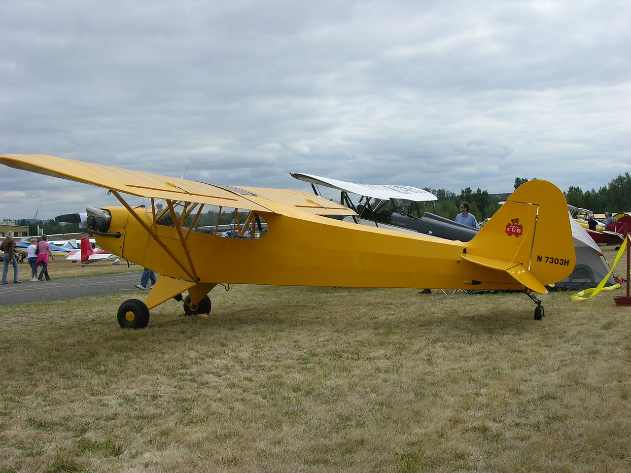 Image result for Piper J3C-65 Cub
