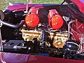 1951 Hudson maroon convertible Hershey 2012 f.jpg