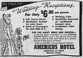 1960 - Americus Hotel Ad - 25 Jun MC - Allentown PA.jpg