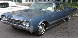 A 1965 Oldsmobile 98