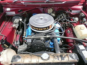 Chrysler LA engine - Image: 1976 Chrysler VK Charger 770 coupe 02