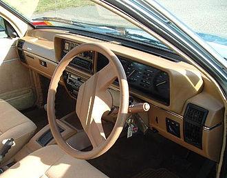 Holden Commodore (VB) - Holden Commodore SL/E interior