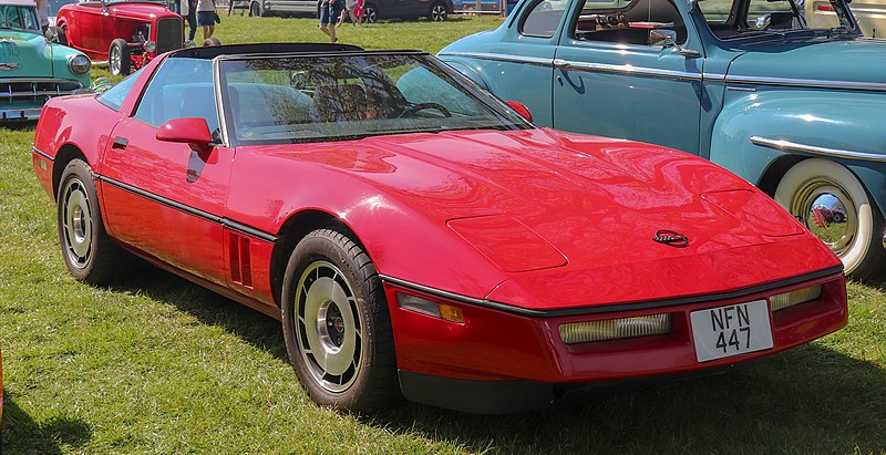 File:1984 Chevrolet Corvette C4 Coupe 5.8 Front.jpg