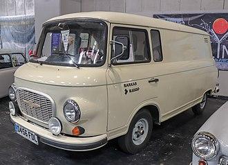 Barkas B 1000 - Image: 1987 Barkas B1000