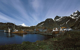 South Georgia and the South Sandwich Islands - View of Grytviken
