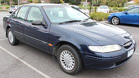 1997 Ford Falcon (EL) GLi sedan (17670566466).jpg