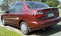 1998 Daewoo Lanos (T100) Limited Edition sedan (2009-04-06).jpg