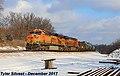 1 2 BNSF 5877 Leads WB Tank Cars Olathe, KS 12-24-17 (25410167568).jpg