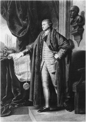 Richard Grosvenor, 1st Earl Grosvenor - Grosvenor, after Benjamin West