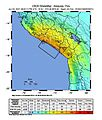 2001 2001 southern Peru earthquake intesity map.jpg