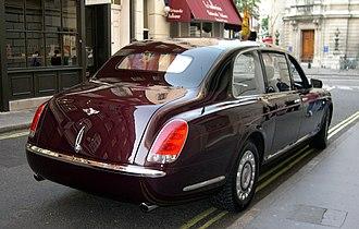 Bentley State Limousine - Bentley State Limousine.