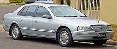 2000–2003 Ford AU II LTD - Ford Fairlane (Australia)