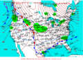 2003-01-22 Surface Weather Map NOAA.png