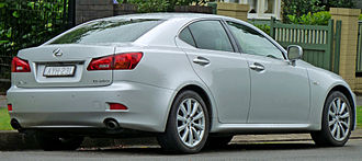 Lexus IS - Lexus IS 250 (GSE20, Australia)