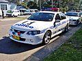 2005 Ford BA Mk II Falcon XR8 - NSW Police (5497933253).jpg