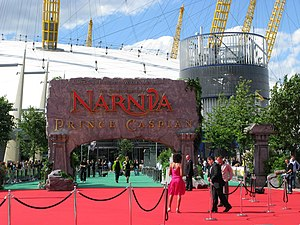 The Chronicles of Narnia: Prince Caspian - Entrance to the O2 premiere in London on June 19, 2008