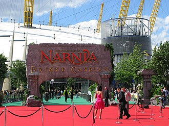 The Chronicles of Narnia - The premiere of The Chronicles of Narnia: Prince Caspian in 2008