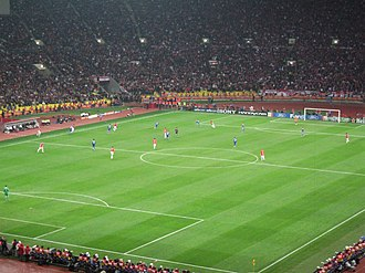 2008 UEFA Champions League Final - Manchester United go on the attack.