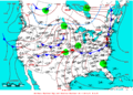 2009-05-15 Surface Weather Map NOAA.png