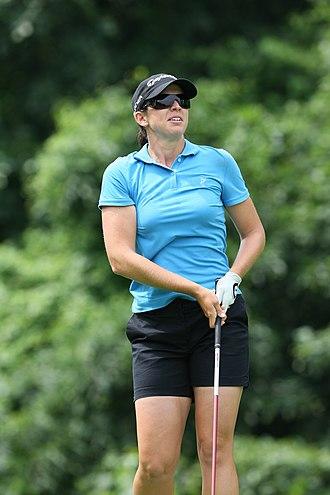 Nicole Castrale - Castrale at 2009 LPGA Championship