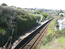 2009 at Carbis Bay station - platform.jpg