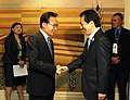 2010.6.27日本内閣総理大臣菅直人会見大韓民国大統領李明博 Japanese Prime Minister Naoto Kan meets with Republic of Korea President Lee Myung-bak.jpg