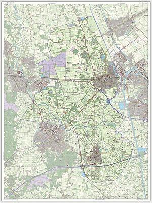 Wierden - Dutch Topographic map of Wierden, July 2013